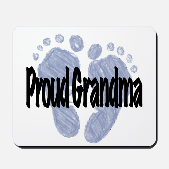 Proud Grandma (Boy) Mousepad