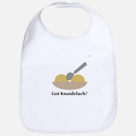 Got Knaidelach? Bib