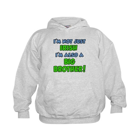 Irish Big Brother Kids Hoodie