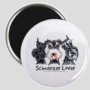 Miniature Schnauzer Lover Magnet