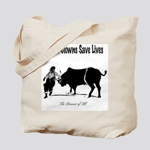 """Rodeo Clowns"" Tote Bag (Design on both sides)"