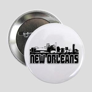 """New Orleans Skyline 2.25"""" Button"""