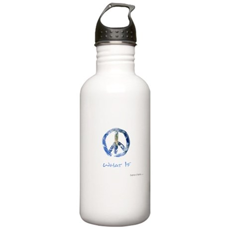 Stainless Water Bottle 1.0L - WHAT IF