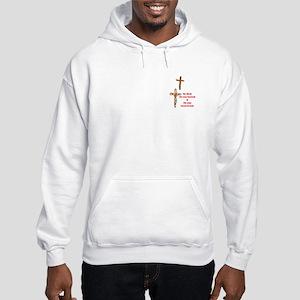 Jesus Bore Our Sins Hooded Sweatshirt