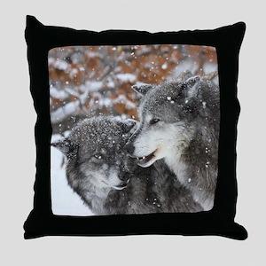 The Pair Throw Pillow
