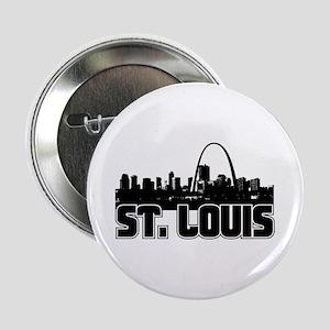 """St. Louis Skyline 2.25"""" Button"""