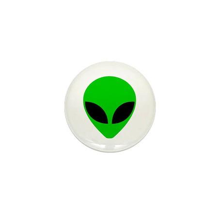 """""""Alien Head"""" Mini Button"""