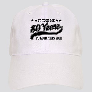 Hats. Funny 80th Birthday Cap 7caf3d11243