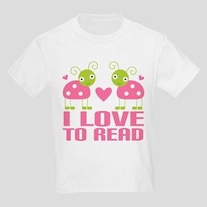 Ladybug I Love To Read T-Shirt