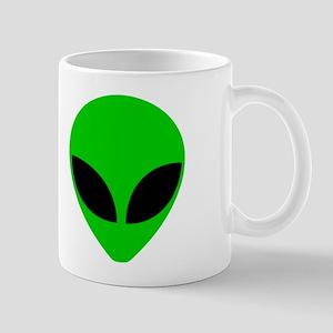 """Alien Head"" Mug"