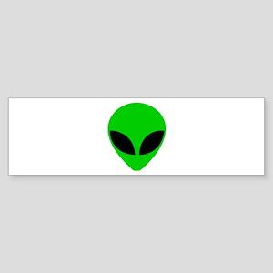 """""""Alien Head"""" Bumper Sticker"""