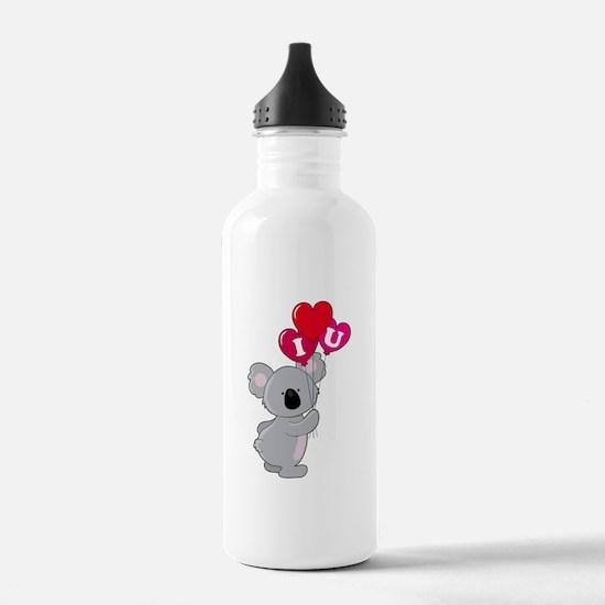 Koala Loves You Water Bottle