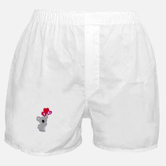 Koala Loves You Boxer Shorts