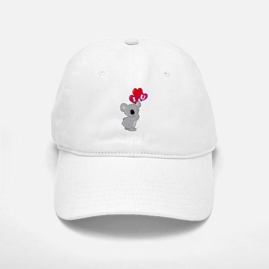 Koala Loves You Baseball Baseball Cap