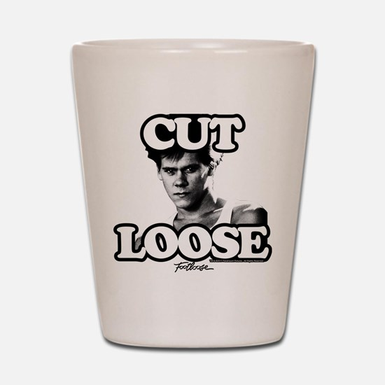Footloose Cut Loose Shot Glass