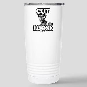 Footloose Cut Loo 16 oz Stainless Steel Travel Mug