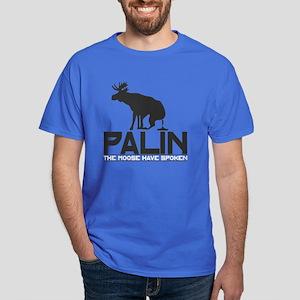 Palin Moose Dump Dark T-Shirt