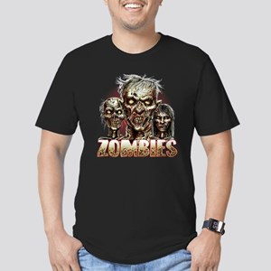 Zombies Men's Fitted T-Shirt (dark)