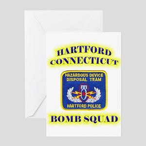 Hartford Police E.O.D. Greeting Card