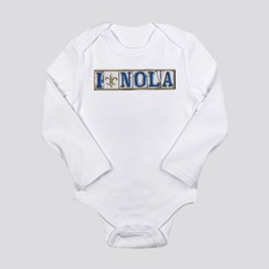 Love NOLA Long Sleeve Infant Bodysuit