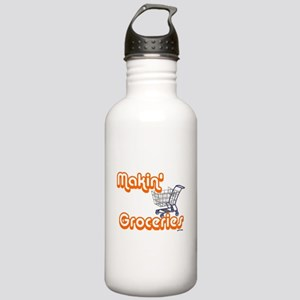 Makin Groceries Stainless Water Bottle 1.0L
