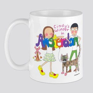 Cindy in Amsterdam Group Mug