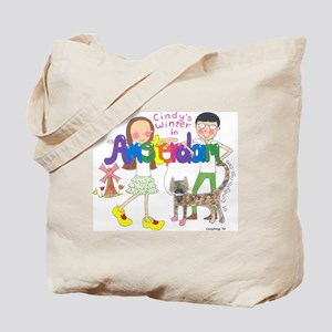 Cindy in Amsterdam Group Tote Bag