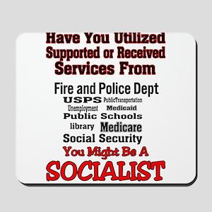 Socialist Mousepad