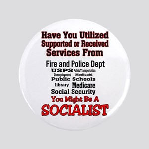 "Socialist 3.5"" Button"