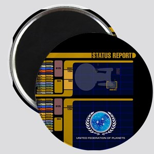 Star Trek LCARS Status Report Magnets
