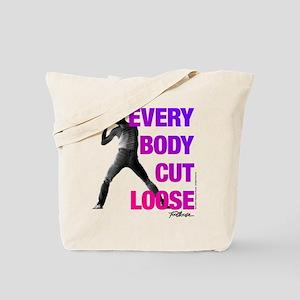 Footloose Everybody Cut Loose Tote Bag