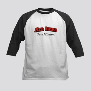 Red / On a Mission Kids Baseball Jersey