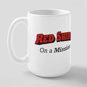 Red / On a Mission Large Mug