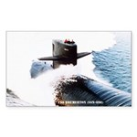 USS BREMERTON Sticker (Rectangle)