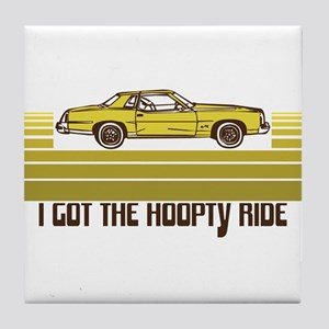 70's/80's Hoopty Ride Tile Coaster