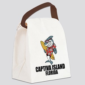 Captiva Island, Florida Canvas Lunch Bag