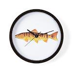 Masu Salmon Cherry Trout Wall Clock