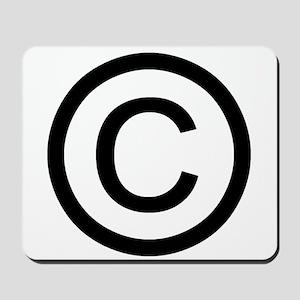 Copyright Logo Mousepad