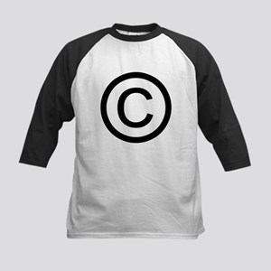 Copyright Logo Kids Baseball Jersey