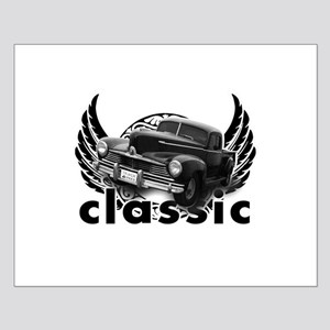 Classic Truck with Wings Small Poster