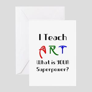 teach art Greeting Card