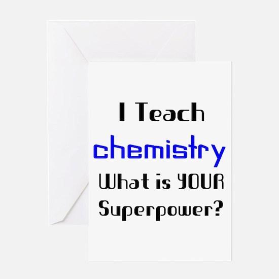 teach chemistry Greeting Card