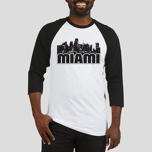 Miami Skyline Baseball Jersey