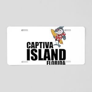 Captiva Island, Florida Aluminum License Plate