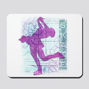 Figure Skating Collage Mousepad
