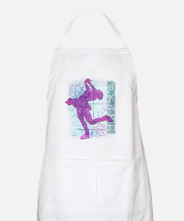 Figure Skating Collage Apron
