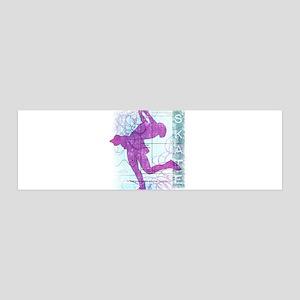 Figure Skating Collage 42x14 Wall Peel