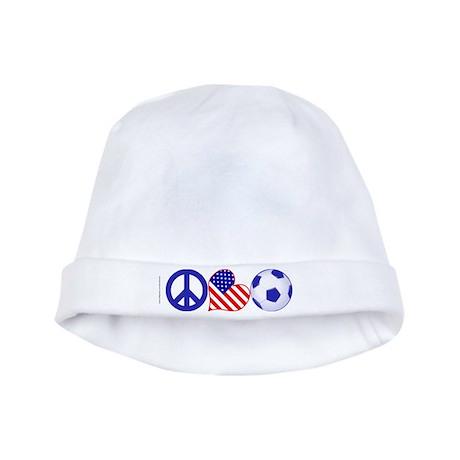 U.S.A. Soccer Fan baby hat