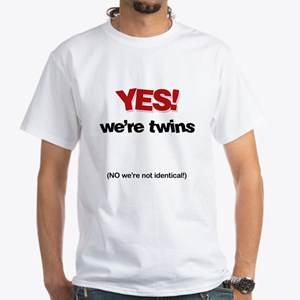 YES Twins_No Identical T-Shirt