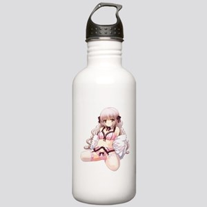 Underwear Anime Girl Stainless Water Bottle 1.0L